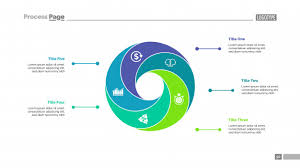 Cycle Chart With Five Elements Template Vector Free Download
