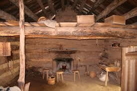 Bond Back  Cabin Interior Design And Log Cabins - Interior log homes