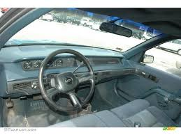 Blue Interior 1992 Chevrolet Lumina Euro Sedan Photo #49440352 ...
