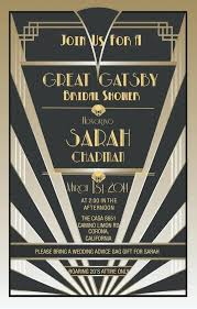 Great Gatsby Invitation Template Party Invitations Good And Great With Black On The Gatsby