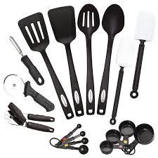American Made Kitchen Utensils Amazoncom Farberware Classic 17 Piece Tool And Gadget Set