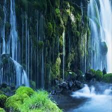 Custom <b>3D</b> Wallpaper Classic Waterfall Nature Landscape <b>Wall</b> ...