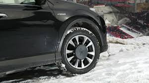 bridgestone blizzak tires on ioc fleet of vehicles