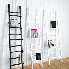 unusual design ideas decorative wall ladder small home decor inspiration metal wooden shelf rustic bookcase ladders shelves