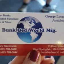 Bunk Bed World Factory Outlet Furniture Stores 20 River St