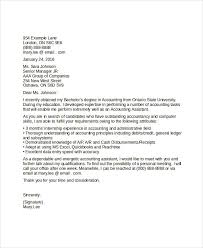 40 Job Application Letter Templates For Accountant Word PDF Custom Accounting Job Cover Letter