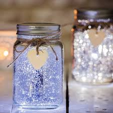 Decorated Jam Jars For Christmas Sparkle LED Jam Jar Light Best Outdoor Christmas Lights 15