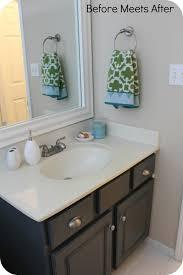 diy refinishing bathroom vanity. makeover painted bathroom vanity image diy refinishing