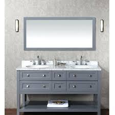 60 vanity double sink top. vanities: vanity double sink top stufurhome 60 marla gray set with mirror e