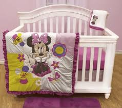 A Dash of Disney with 4-Piece Disney Baby Crib Bedding Sets ... & Disney Minnie Mouse 4-Piece Crib Set Adamdwight.com
