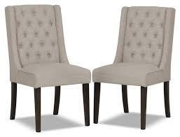 contemporary tufted wing parson dining chairs ideas for dining chair decor ideas with parson slipcovers ideas
