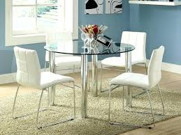 glass top dining table set 4 chairs glass top dining table set 4 chairs dining room