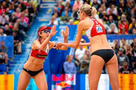 Female Beach Volleyball teams in Tokyo ...