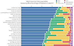racial makeup of major us cities daily