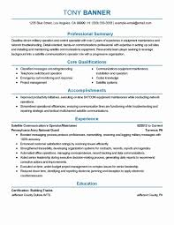Forklift Driver Resume Template Example Best Of Machine Operator