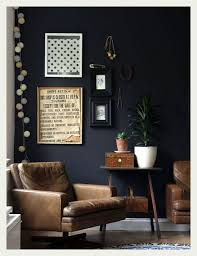 Masculine Apartment Decor Leather Chairs Dark Charcoal Walls Impressive 2 Bedroom Apartments Bellevue Wa Decor Painting
