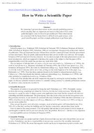 writing scientific paper how to write a scientific paperworld of writings world of writings world of writings