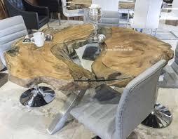 Runder Esstisch Aus Altholz