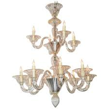 beautiful venetian blown glass chandelier for