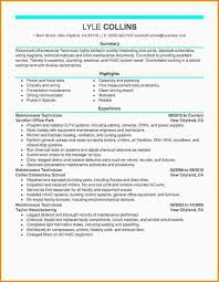 resume technician maintenance 3 maintenance resume mac resume template