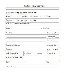 Free Incident Report Letter Sample Magdalene Project Org