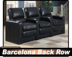 seatcraft theater seating. Perfect Seating Quick Ship Barcelona Home Theater Seating Black Top Grain Leather Only  74950 Per Seat 2 Or More On Seatcraft