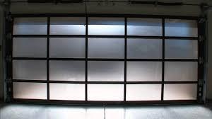 new american home 2016 clopay avante collection glass garage doors