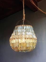 glass bead chandelier handmade recycled blown glass bead chandelier by joy via studio glass glass bead chandelier