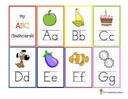 Free Alphabet Flash Cards 10 Sets Of Free Printable Alphabet Flashcards