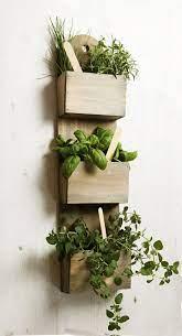 herb planters garden wall planter