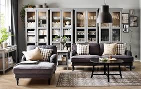 image of ikea living room shelf