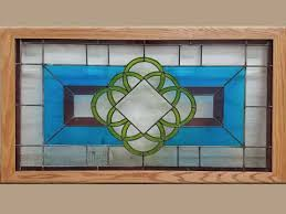 green blue stained glass centered1