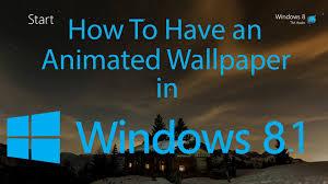 48+] Windows 8.1 Animated Wallpaper on ...