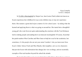 to kill a mockingbird scout s teachers a level english marked  document image preview
