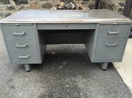 Globe-Wernicke Steel Tanker Desk