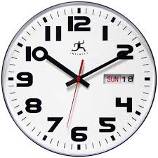 office wall clock. Wonderful Clock Day Date Wall Clock By Infinity Instruments In Office