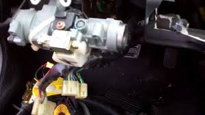 re 92 95 honda civic lock cylinder replacement youtube 1992 Honda Civic Wiring Diagram at 95 Civic Ignition Switch Wiring Diagram
