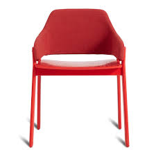 red upholstered dining chairs. Clutch Dining Chair \u2013 Modern Chairs - Red Upholstered I