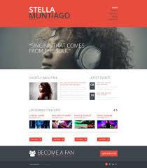 Buy Web Page Design Website Design 48504 Stella Muntiago Singer Custom Website