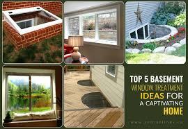 basement window treatment ideas. Basement Window Treatment Ideas