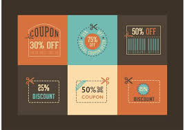 coupon design free retro coupon designs vector download free vector art stock