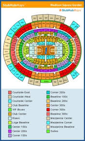 Msg Chart Seating New Msg 3d Seating Chart Madison Square Seating Chart Msg