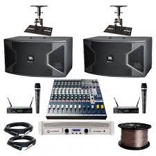 jbl karaoke speakers. paket sound system karaoke set premium jbl jbl speakers