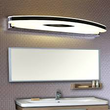 washroom lighting. Hot Modern Led Wall Mirror Lights For Bathroom Washroom Dress Room Stainless Steel Lamp Lighting