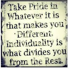 Individuality Quotes. QuotesGram via Relatably.com