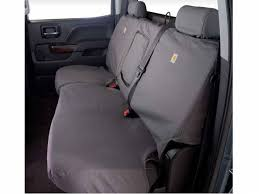 covercraft carhartt gravel rear seat covers