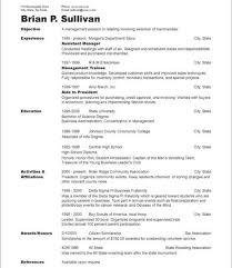 Chronological Format Resume New Chronological Resume Examples28 Chronological Resumes Sample