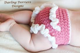 Free Crochet Diaper Cover Pattern Mesmerizing Ruffle Diaper Cover Crochet Pattern On Luulla