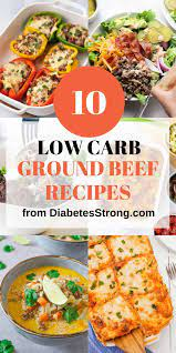 Choosing the correct kind of ground beef at the grocery store makes this especially easy. 10 Low Carb Ground Beef Recipes In 2020 Healthy Beef Recipes Easy Beef Recipes Ground Beef Recipes Healthy