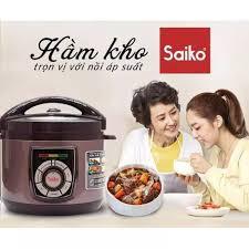 Nồi áp suất điện 5L Saiko EPC-818